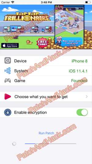 Tap Tap Trillionaire Hack and patch
