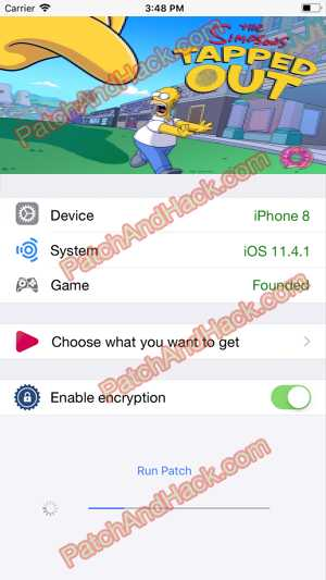 The Simpsons: Tapped Out Hack and patch