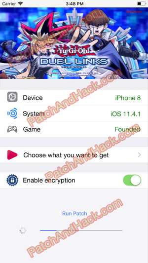 Yu-Gi-Oh! Duel Links Hack and patch