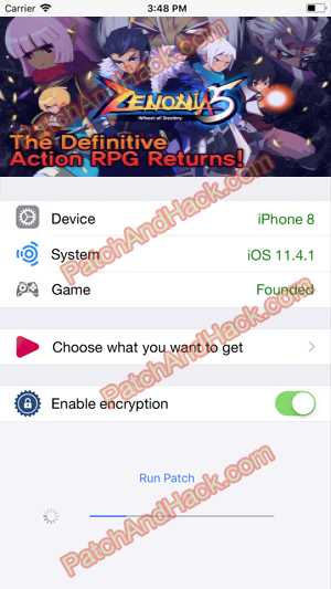 ZENONIA 5 Hack and patch