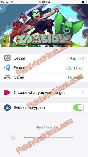 Zombidle Hack and patch