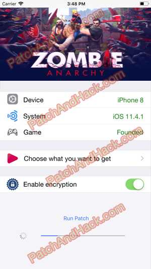 Zombie Anarchy Hack and patch